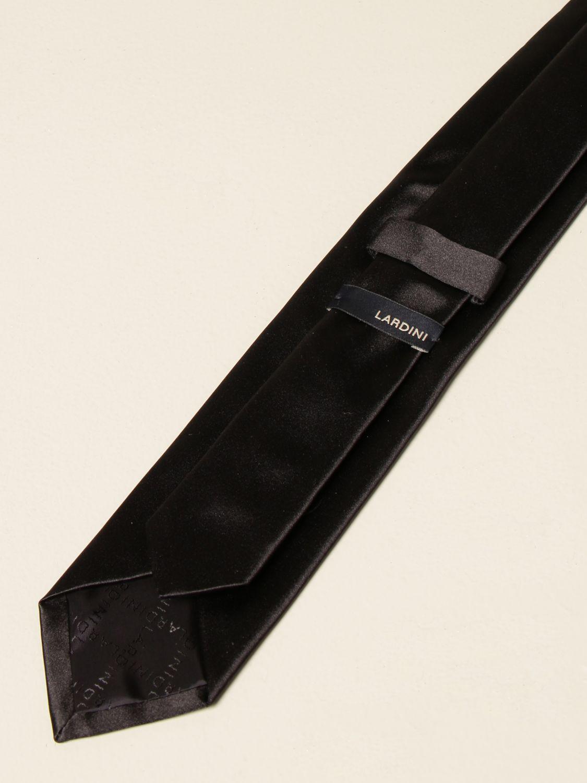 Corbata Lardini: Corbata hombre Lardini negro 2