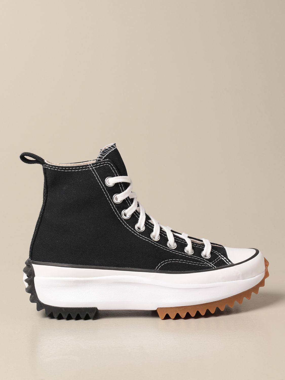 Zapatillas Converse: Zapatos mujer Converse negro 1