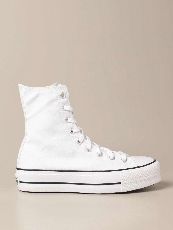 Zapatillas Converse: Zapatos mujer Converse blanco 1