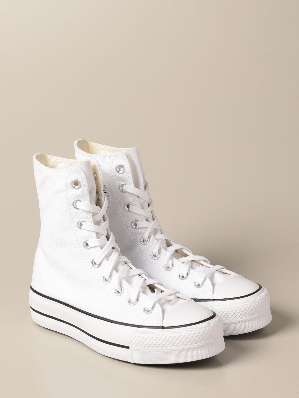 Zapatillas Converse: Zapatos mujer Converse blanco 2