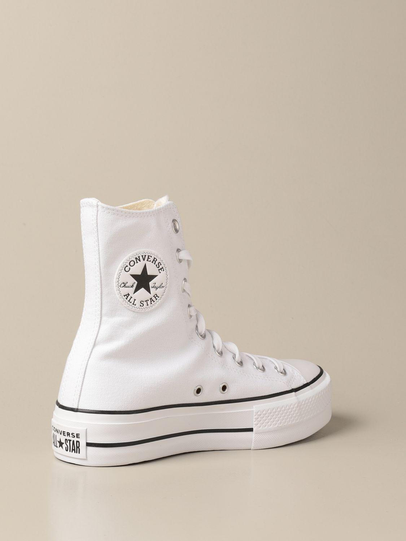 Zapatillas Converse: Zapatos mujer Converse blanco 3