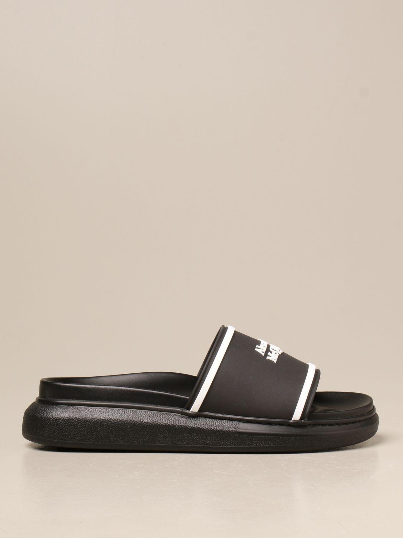 Sandals Alexander Mcqueen: Sandals men Alexander Mcqueen black 1