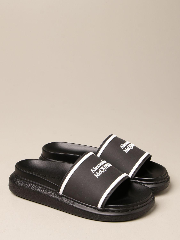 Sandals Alexander Mcqueen: Sandals men Alexander Mcqueen black 2