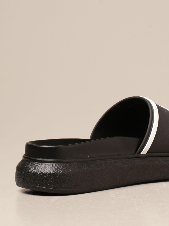 Sandals Alexander Mcqueen: Sandals men Alexander Mcqueen black 3