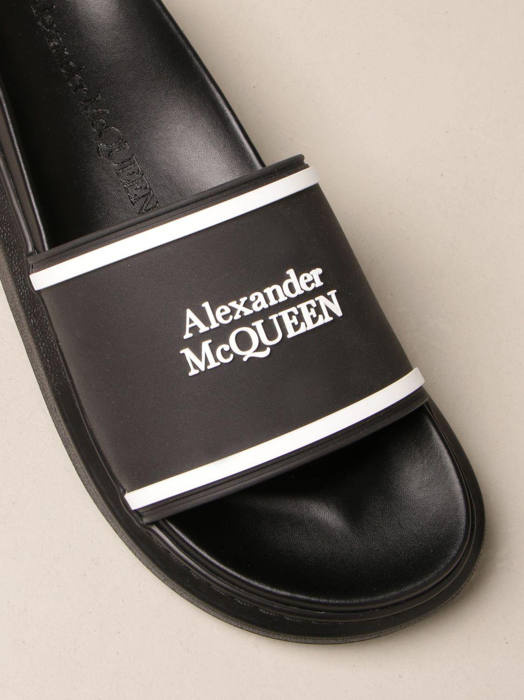 Sandals Alexander Mcqueen: Sandals men Alexander Mcqueen black 4