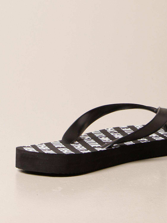 Sandals Versace Jeans Couture: Shoes men Versace Jeans Couture black 3