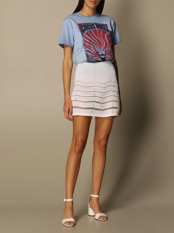 T-Shirt Circus Hotel: Circus Hotel cotton t-shirt with big print sky 2