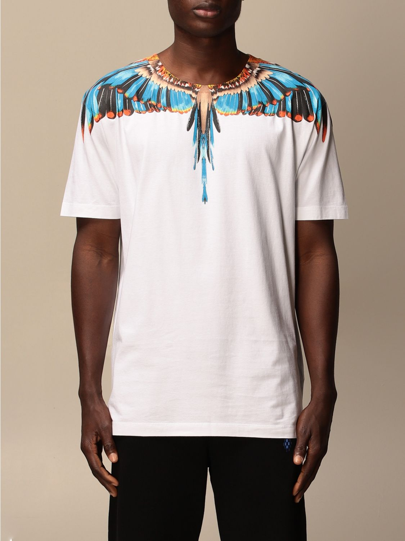 Camiseta Marcelo Burlon: Camiseta hombre Marcelo Burlon blanco 1