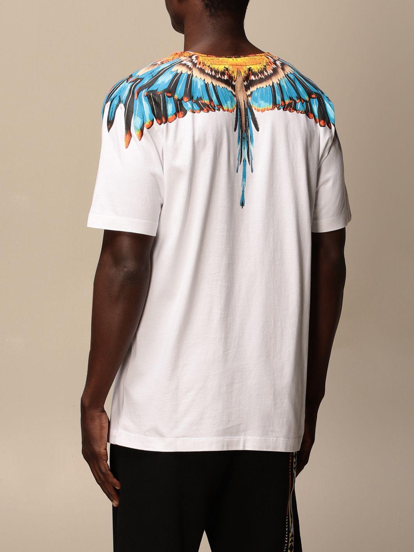Camiseta Marcelo Burlon: Camiseta hombre Marcelo Burlon blanco 2