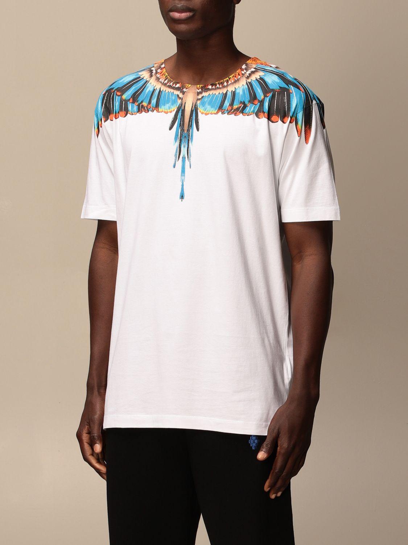 Camiseta Marcelo Burlon: Camiseta hombre Marcelo Burlon blanco 3