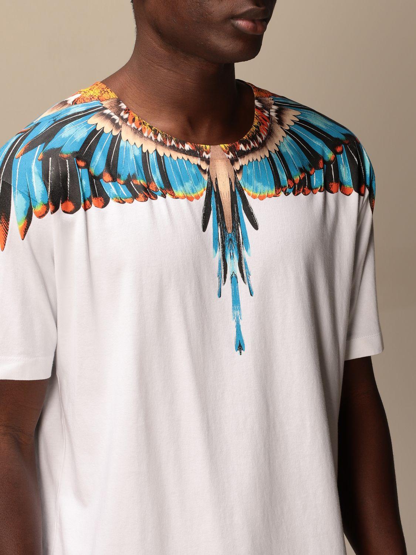 Camiseta Marcelo Burlon: Camiseta hombre Marcelo Burlon blanco 4