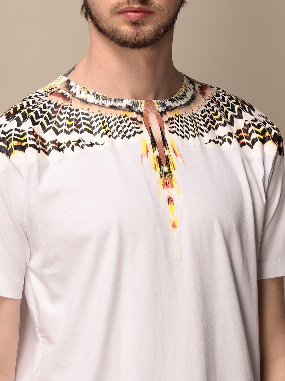 Camiseta Marcelo Burlon: Camiseta hombre Marcelo Burlon negro 1 4