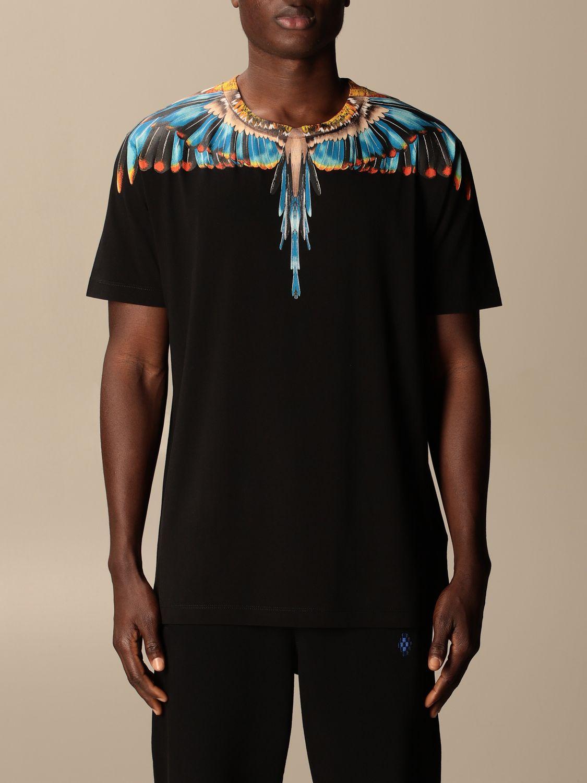 Camiseta Marcelo Burlon: Camiseta hombre Marcelo Burlon negro 2 1