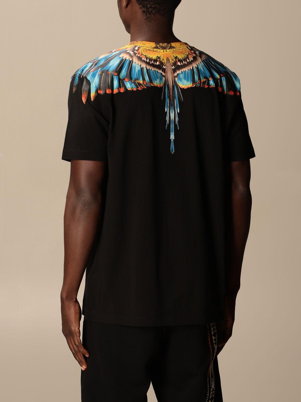 Camiseta Marcelo Burlon: Camiseta hombre Marcelo Burlon negro 2 2