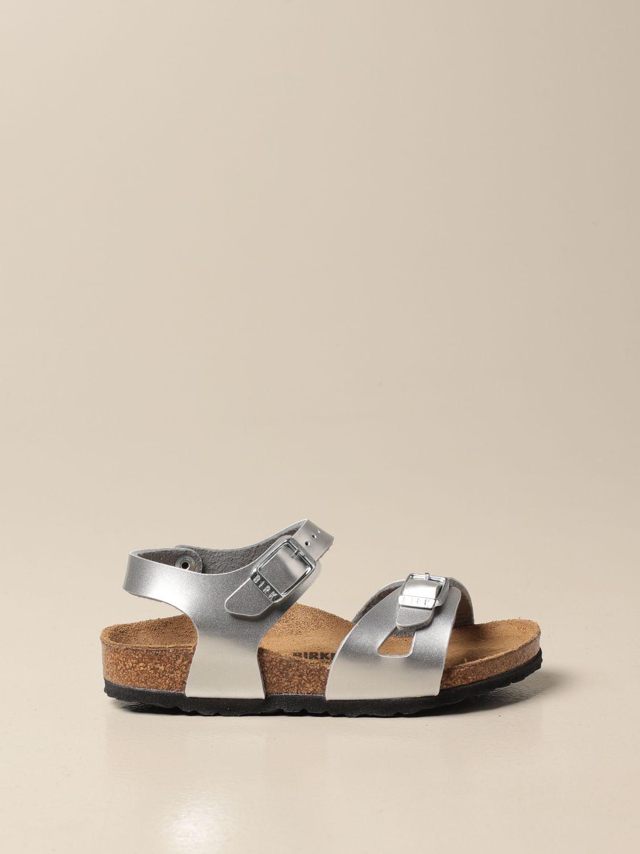 Zapatos Birkenstock: Zapatos niños Birkenstock plata 1