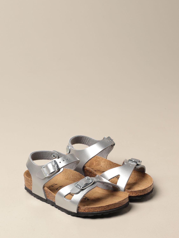 Zapatos Birkenstock: Zapatos niños Birkenstock plata 2