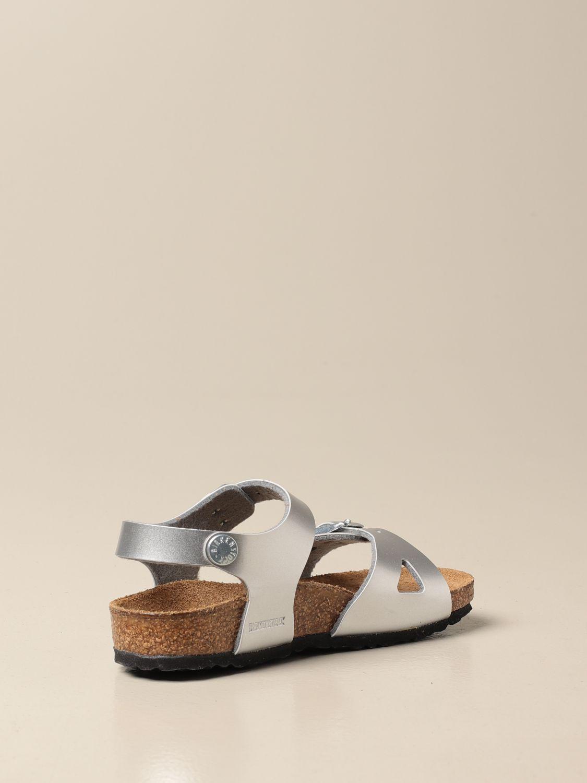 Zapatos Birkenstock: Zapatos niños Birkenstock plata 3