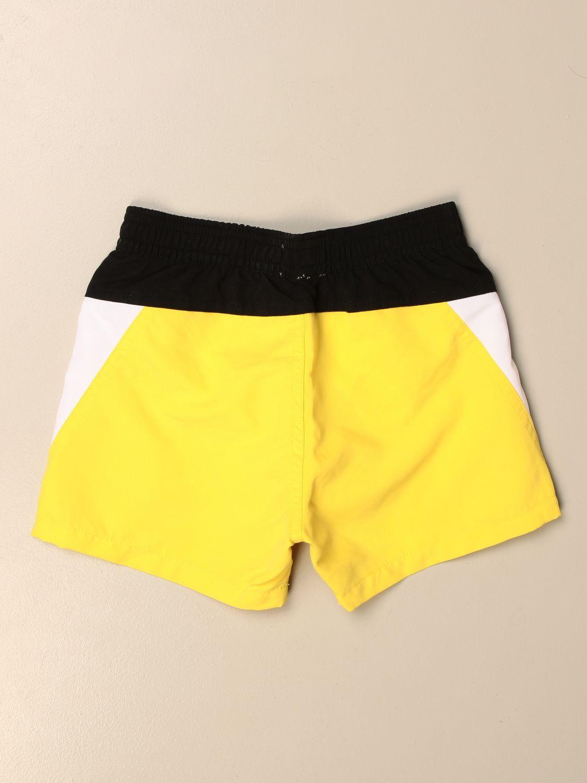 Купальный костюм Hugo Boss: Купальный костюм Детское Hugo Boss желтый 2