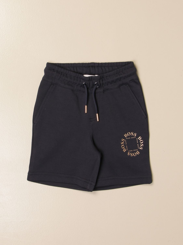Shorts Hugo Boss: Hugo Boss jogging shorts in cotton blue 1