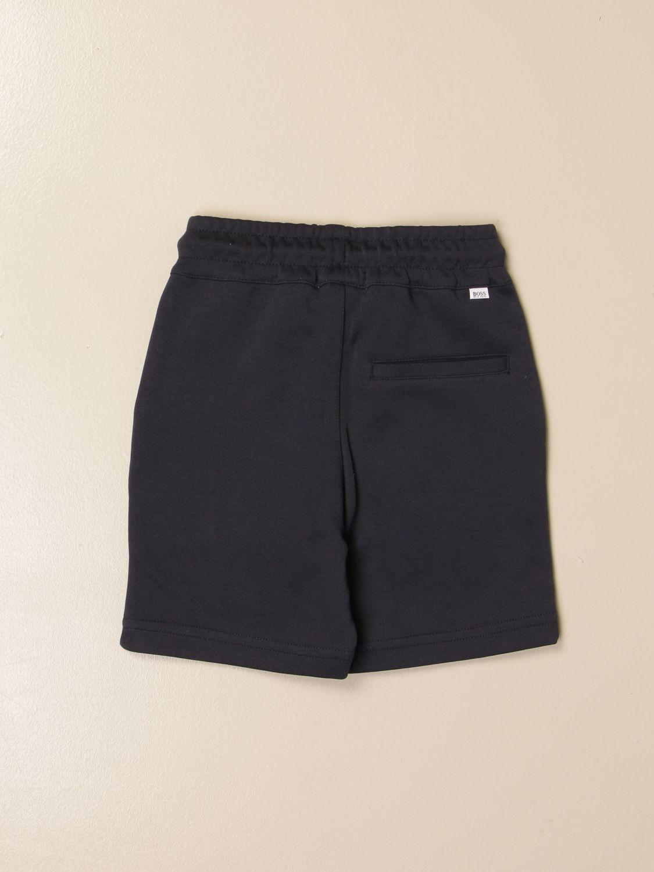 Shorts Hugo Boss: Hugo Boss jogging shorts in cotton blue 2