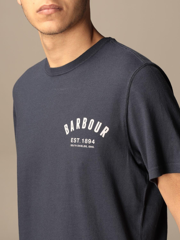 T-shirt Barbour: T-shirt men Barbour navy 3