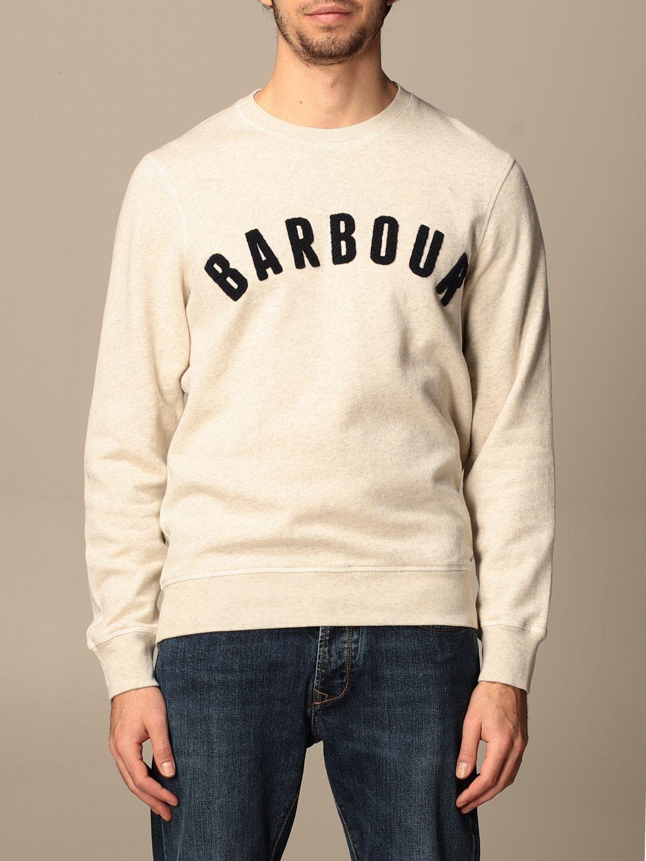 Sweatshirt Barbour: Sweatshirt homme Barbour écru 1