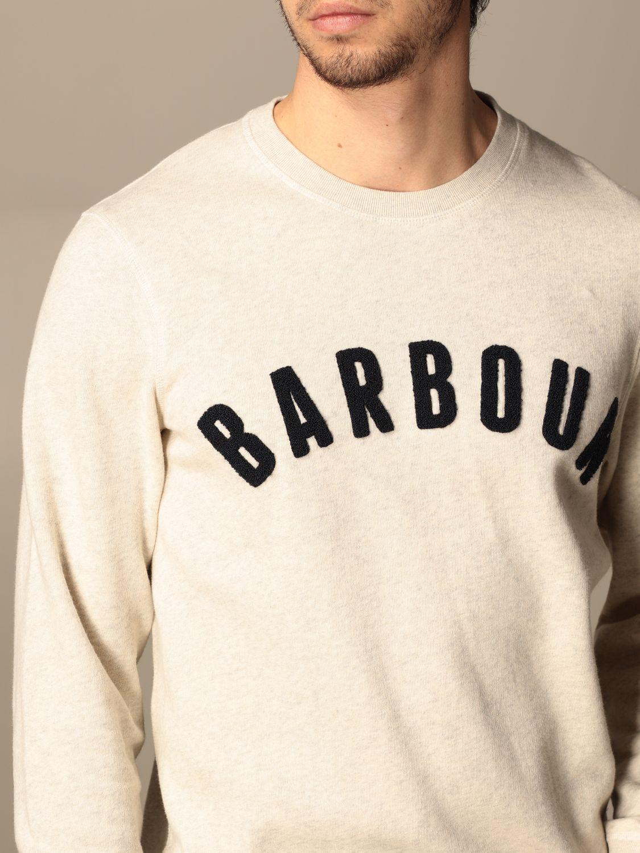 Sweatshirt Barbour: Sweatshirt homme Barbour écru 3