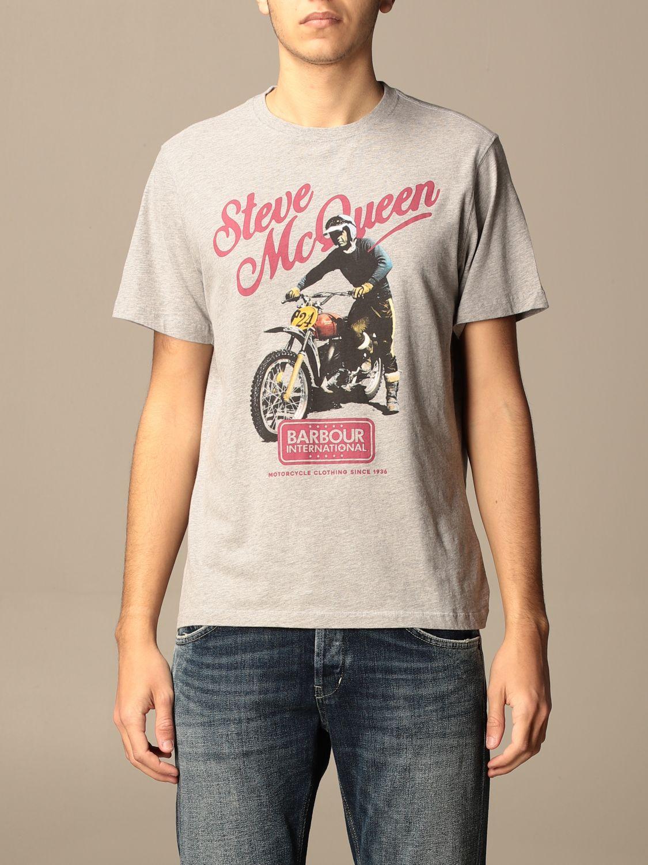 T-shirt Barbour: T-shirt homme Barbour gris 1