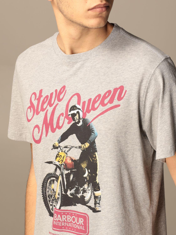 T-shirt Barbour: T-shirt homme Barbour gris 3