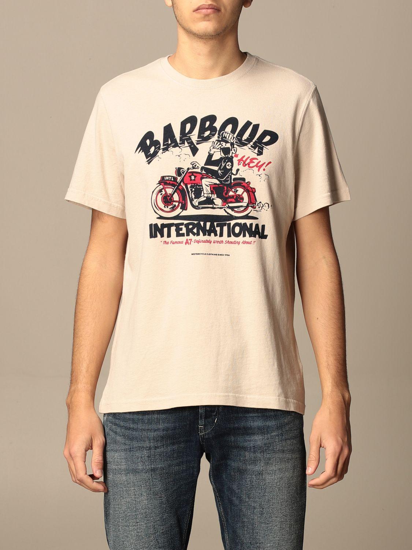 T-shirt Barbour: T-shirt homme Barbour multicolore 1