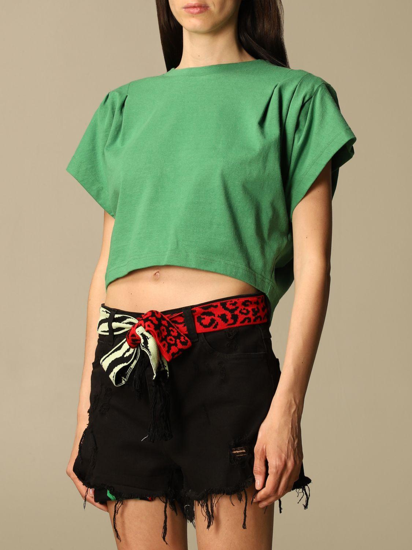 T-Shirt Isabel Marant: T-shirt damen Isabel Marant grün 3