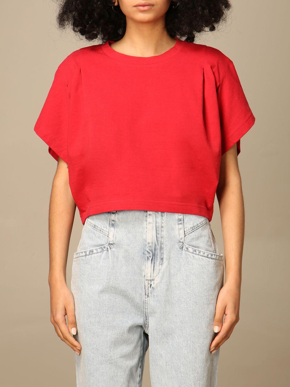 T-Shirt Isabel Marant: T-shirt damen Isabel Marant rot 1