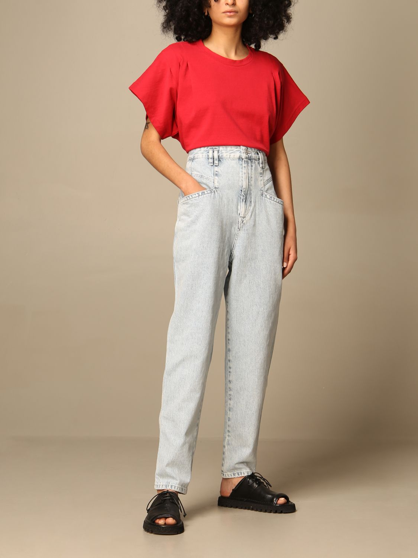 T-Shirt Isabel Marant: T-shirt damen Isabel Marant rot 2