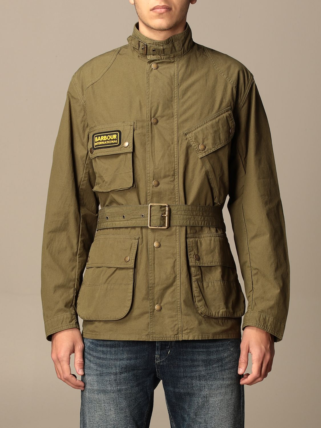 Giacca Barbour: Giacca Barbour in canvas militare 1