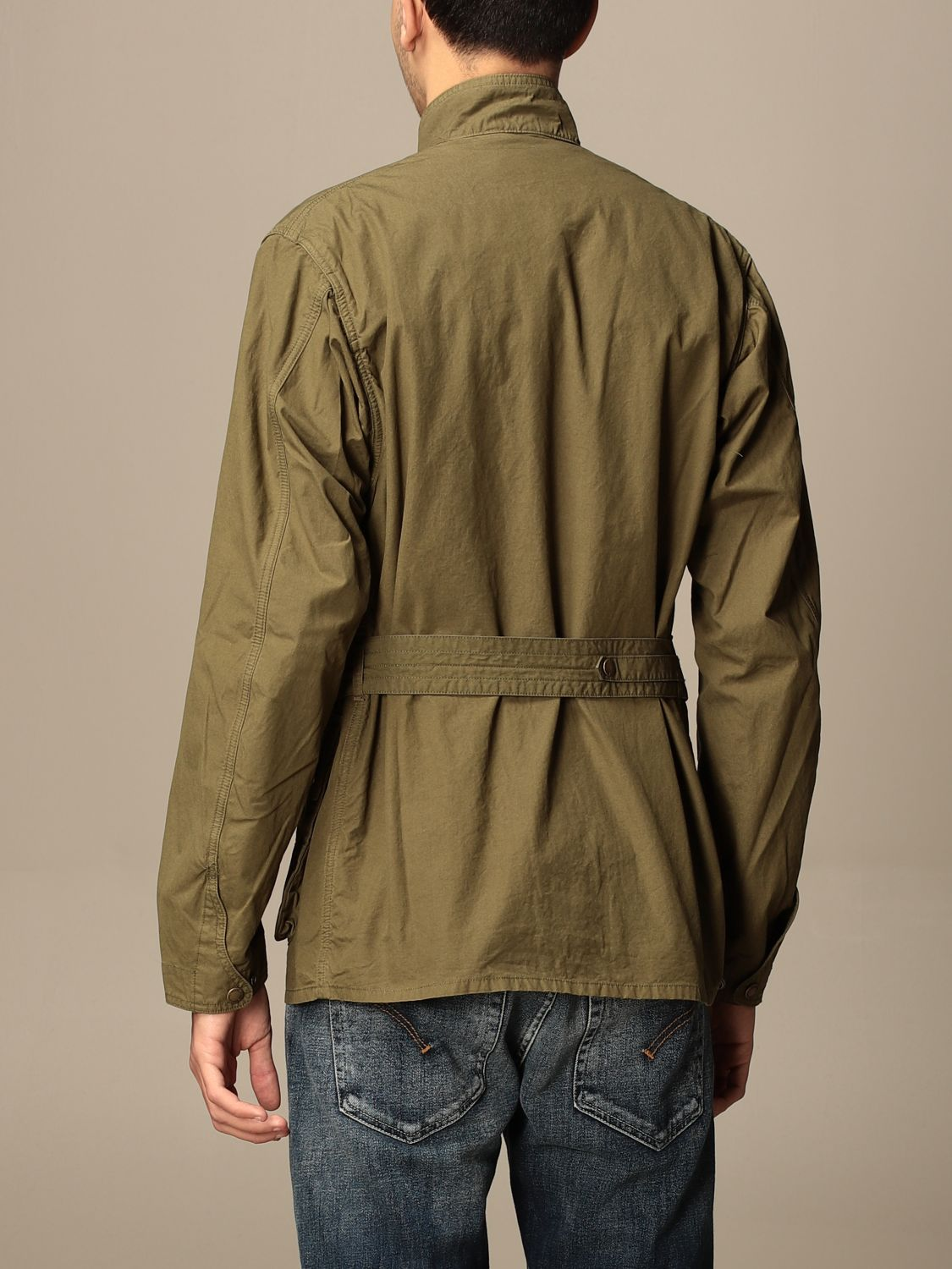 Giacca Barbour: Giacca Barbour in canvas militare 2