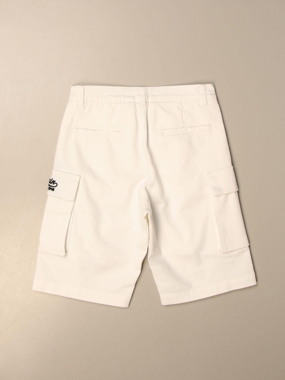 Pantaloncino Balmain: Pantaloncino bambino Balmain bianco 2