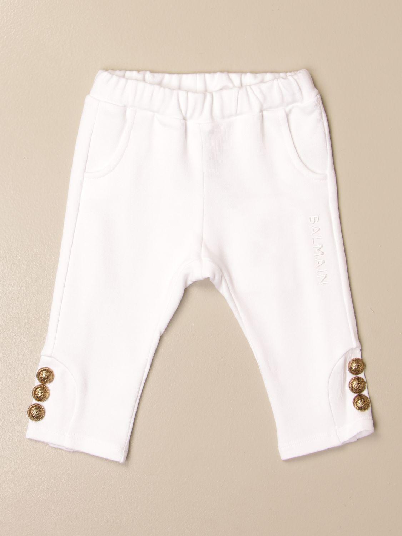 Pantalón Balmain: Pantalón niños Balmain blanco 1