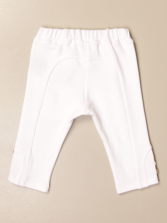 Pantalón Balmain: Pantalón niños Balmain blanco 2
