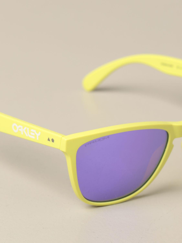 Солнцезащитные очки Oakley: Солнцезащитные очки Мужское Oakley фиолетовый 3
