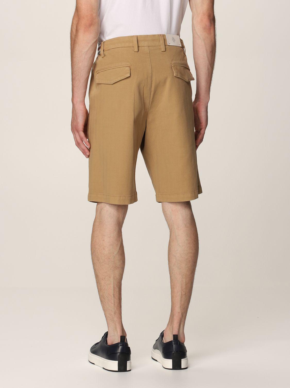 Pantalones cortos Eleventy: Pantalones cortos hombre Eleventy camello 2