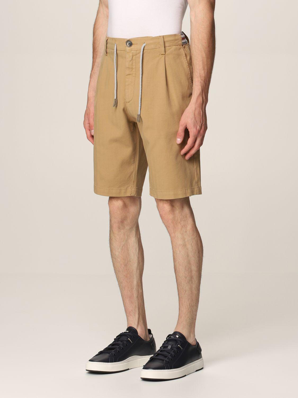 Pantalones cortos Eleventy: Pantalones cortos hombre Eleventy camello 3