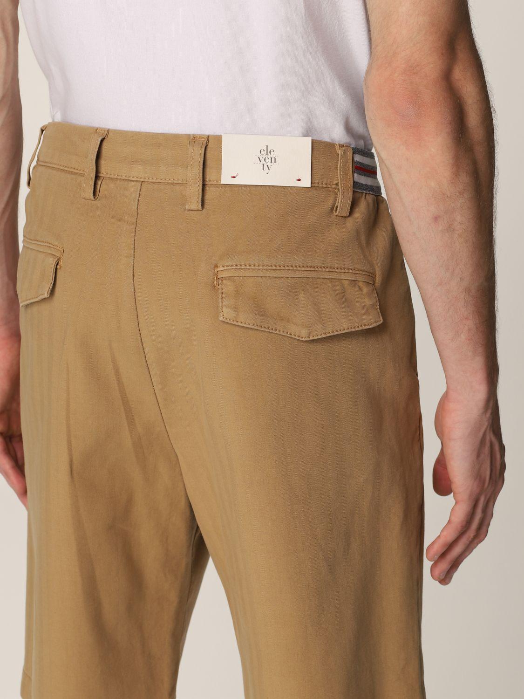Pantalones cortos Eleventy: Pantalones cortos hombre Eleventy camello 4