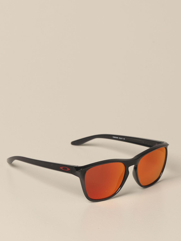 Lunettes Oakley: Lunettes homme Oakley rouge 1