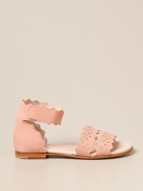 Zapatos Chloé: Zapatos niños ChloÉ rosa 1