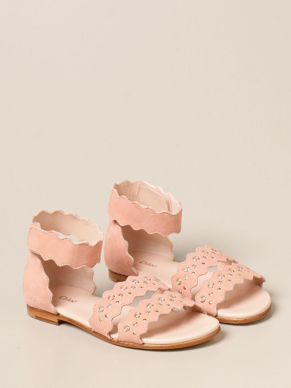 Zapatos Chloé: Zapatos niños ChloÉ rosa 2