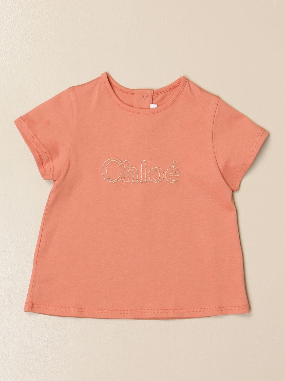 Camiseta Chloé: Camiseta niños ChloÉ marrón 1
