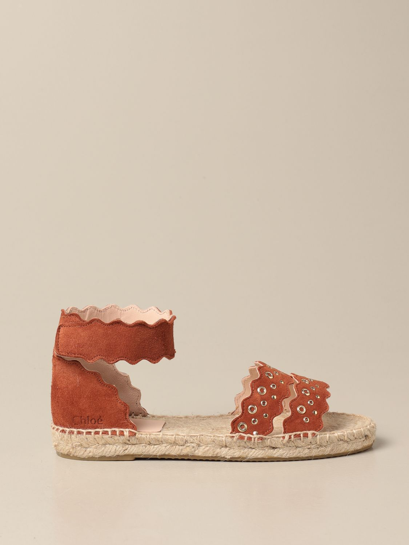 Zapatos Chloé: Zapatos niños ChloÉ ladrillo 1