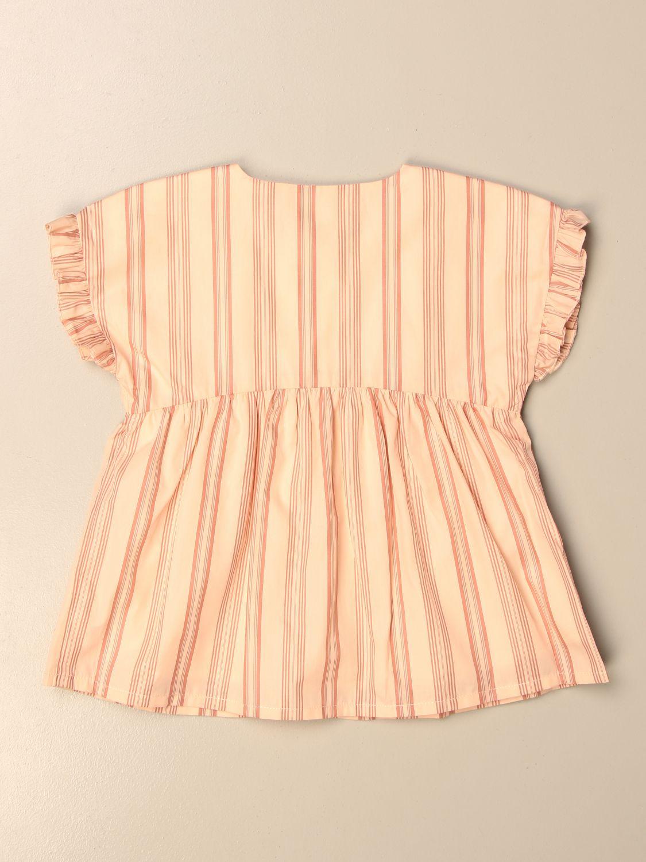 Camisa Chloé: Camisa niños ChloÉ rosa pálido 2