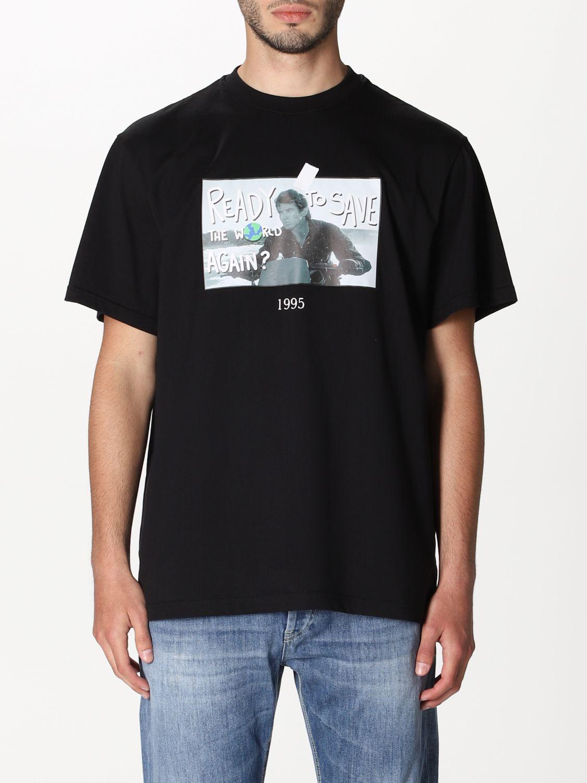 Camiseta Throwback: Camiseta hombre Throwback negro 1