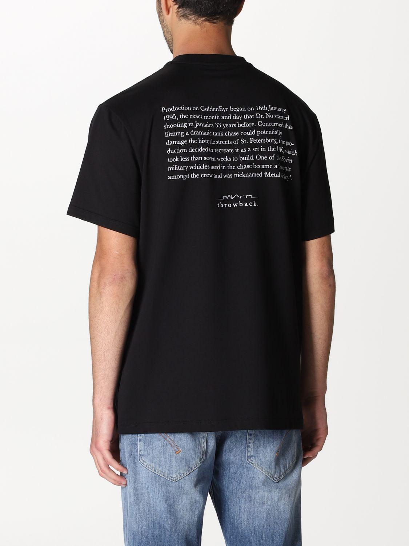 Camiseta Throwback: Camiseta hombre Throwback negro 2